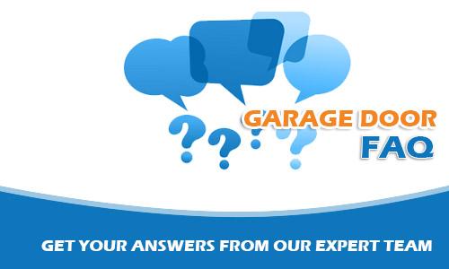 Garage Door Repair Questions